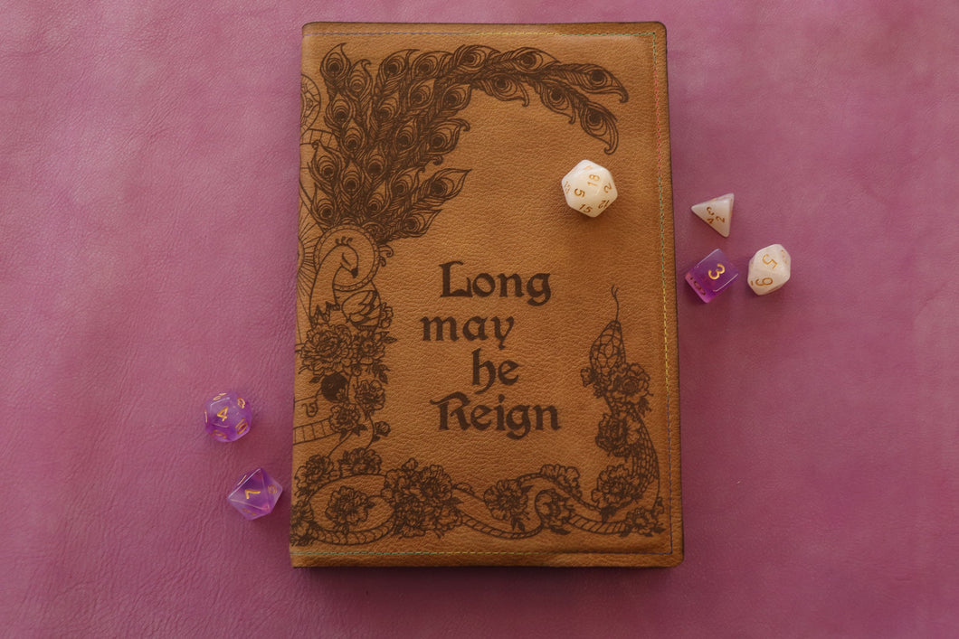 Long May He Reign - A5 Notebook