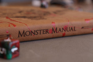 The Bestiary Blood Spattered - Monster Manual