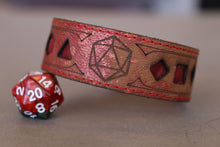 Load image into Gallery viewer, Polyhedral Dice bracelet - Fully customizable