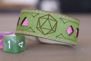 Polyhedral Dice bracelet - Fully customizable