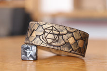 Load image into Gallery viewer, Polyhedral Dice bracelet - Gold dragon