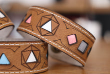 Load image into Gallery viewer, Polyhedral Dice Pride bracelet - Demigender flags