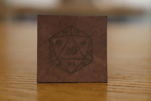 Suede brown leather - book cover upgrade