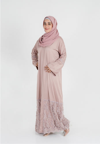 Noor in Nude Brown