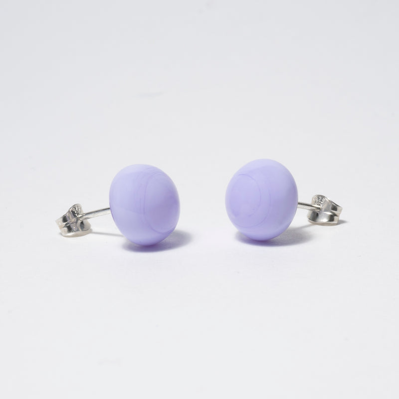 Pompom Earrings Light Lilac