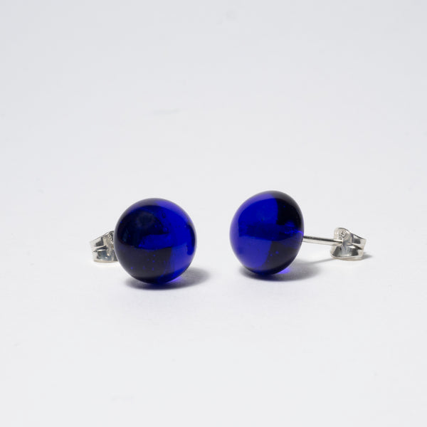 Pompom Earrings Kobold Blue Tr