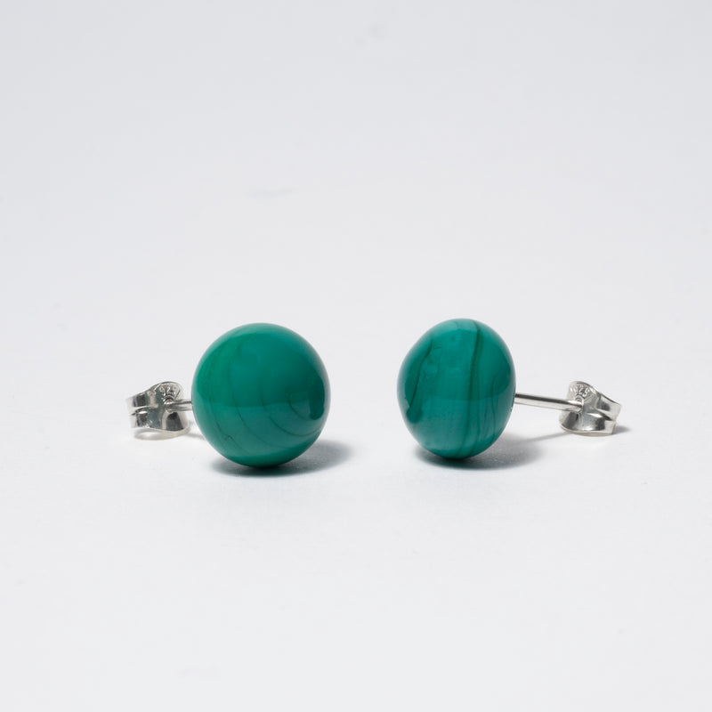 Pompom Earrings Galapagos Green