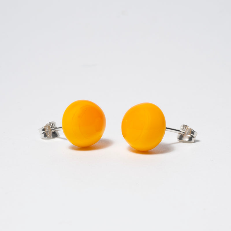 Pompom Earrings Amber