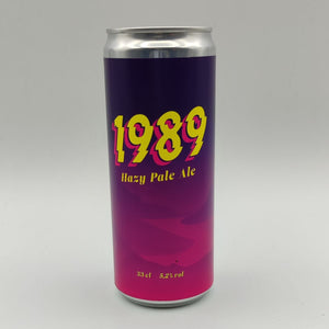 Hazy Pale Ale | 1989 Brewing | 5.2° | Pale Ale