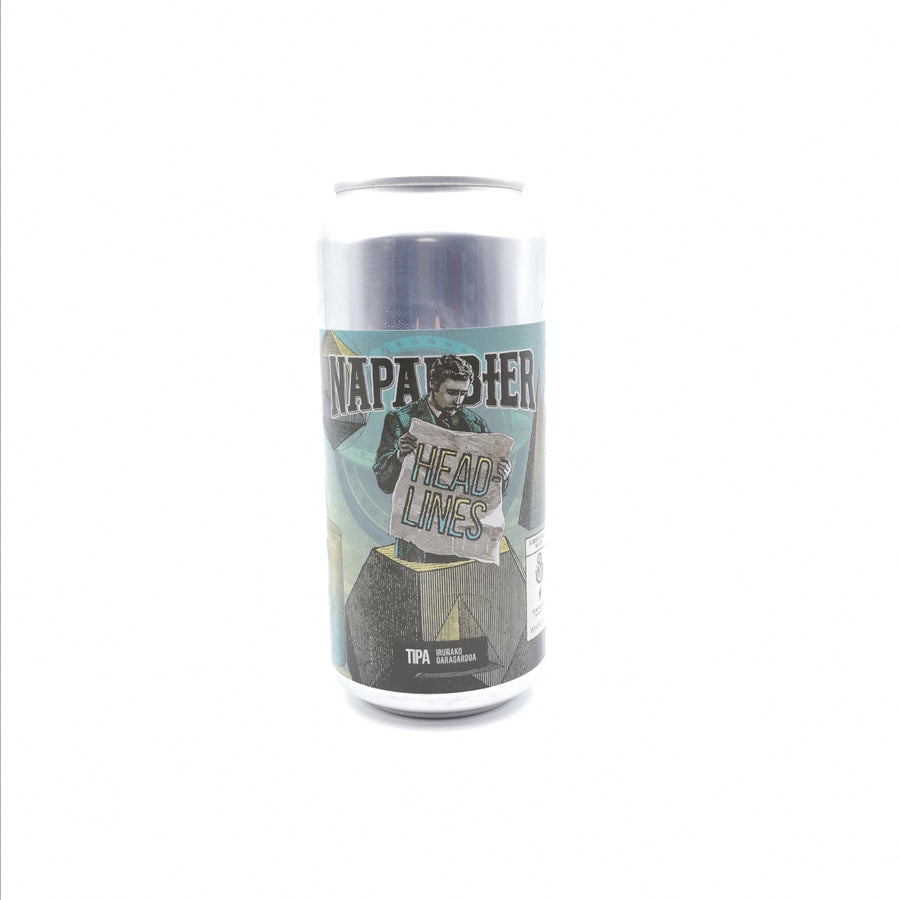 Headlines | Naparbier, Barrier, Garage & Whiplash | 10.5° | Imperial IPA / Double IPA / DIPA