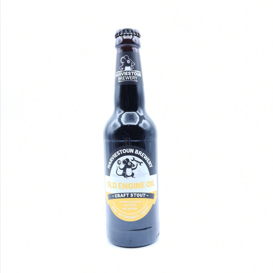 Old Engine Oil | Harviestoun | 6° | Porter / English Porter