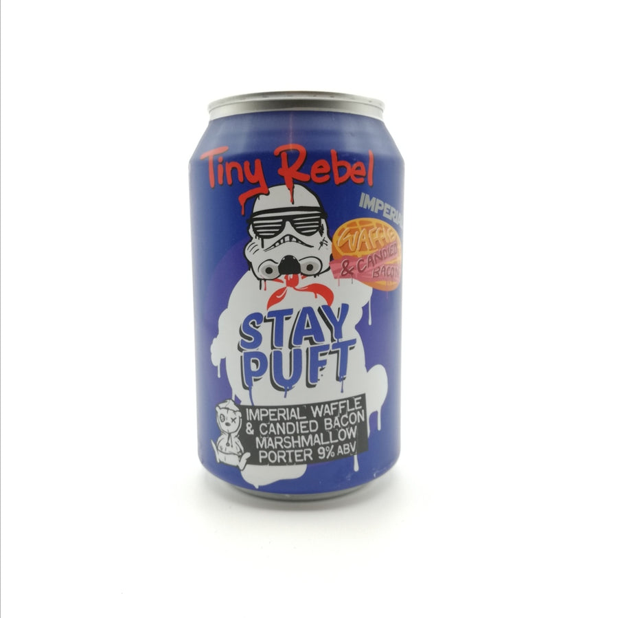 Stay Puft Imperial Waffle & Bacon | Tiny Rebel | 9° | Imperial - Russian Imp. Stout