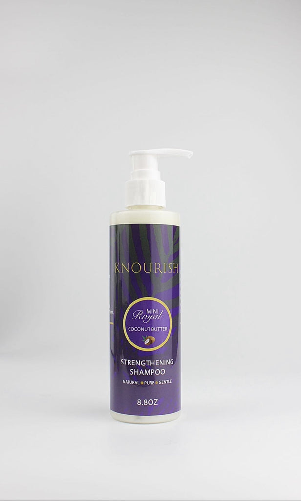 The Royal Coconut Butter Strengthening Shampoo
