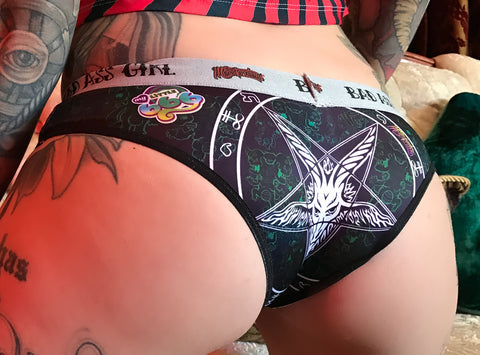 Panty Baphomet in Black...