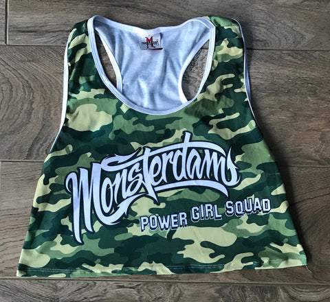 Camouflage Cut Tank top