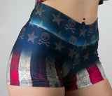 Boxer Training  USA Grunge Flag