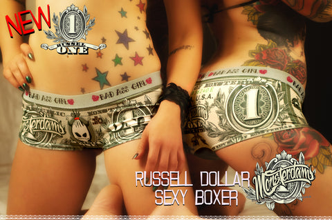 Boxer Russell Dollar Cheeky Cut