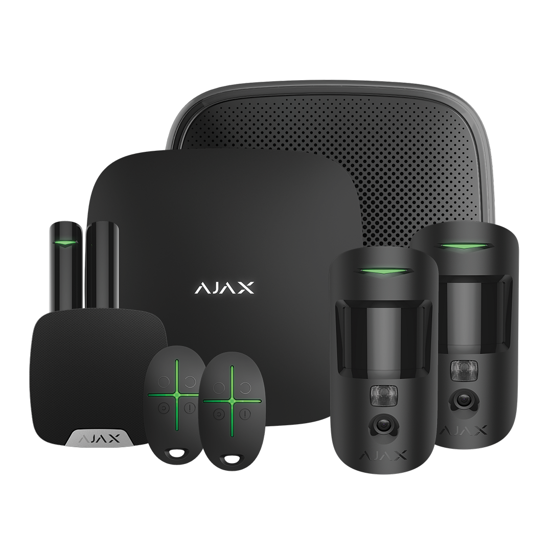 Ajax Visual Verification Kit 1 - House with Keyfobs