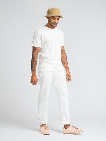 Alex Mill SIMPLE TEE-CREAM - GENTRY NYC - 1