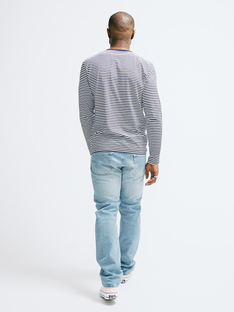 Sunspel Long Sleeve Crew Neck - GENTRY NYC - 3