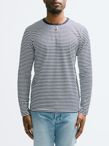 Sunspel Long Sleeve Crew Neck - GENTRY NYC - 1