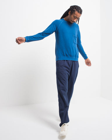 Indigo Pocket Sweatshirt