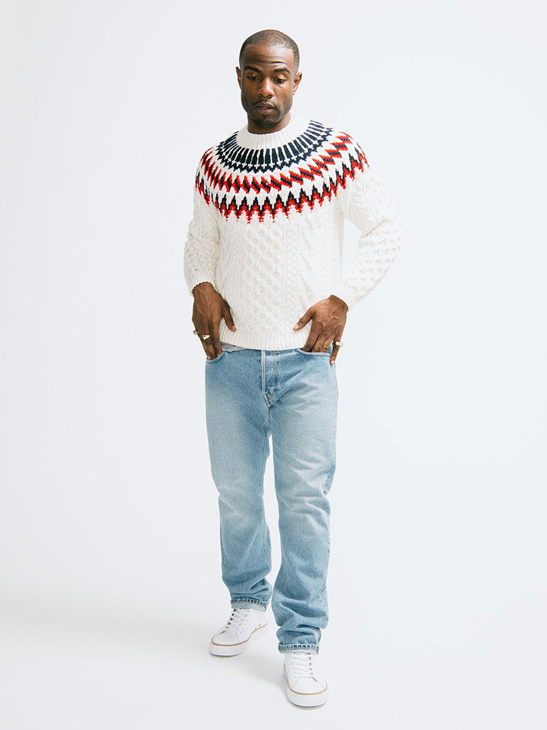 Tomorrowland K-Cord Hand Knitted Pullover - GENTRY NYC - 1