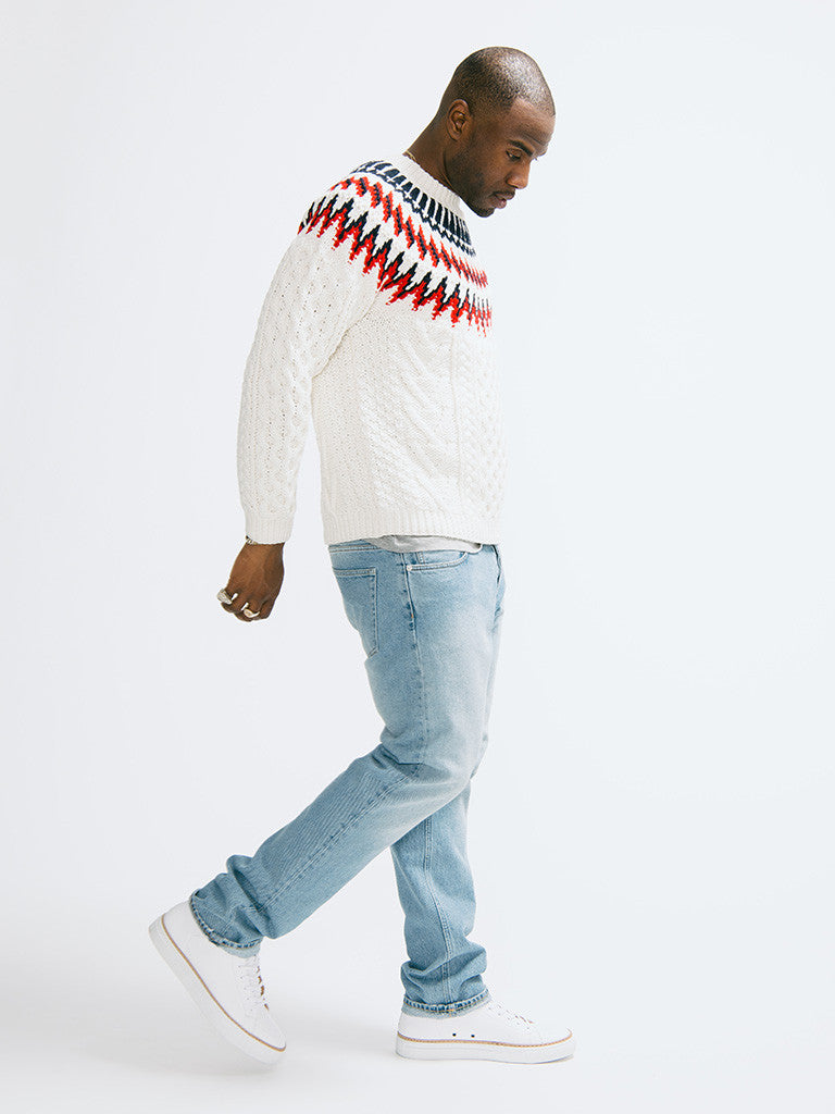 Tomorrowland K-Cord Hand Knitted Pullover - GENTRY NYC - 2