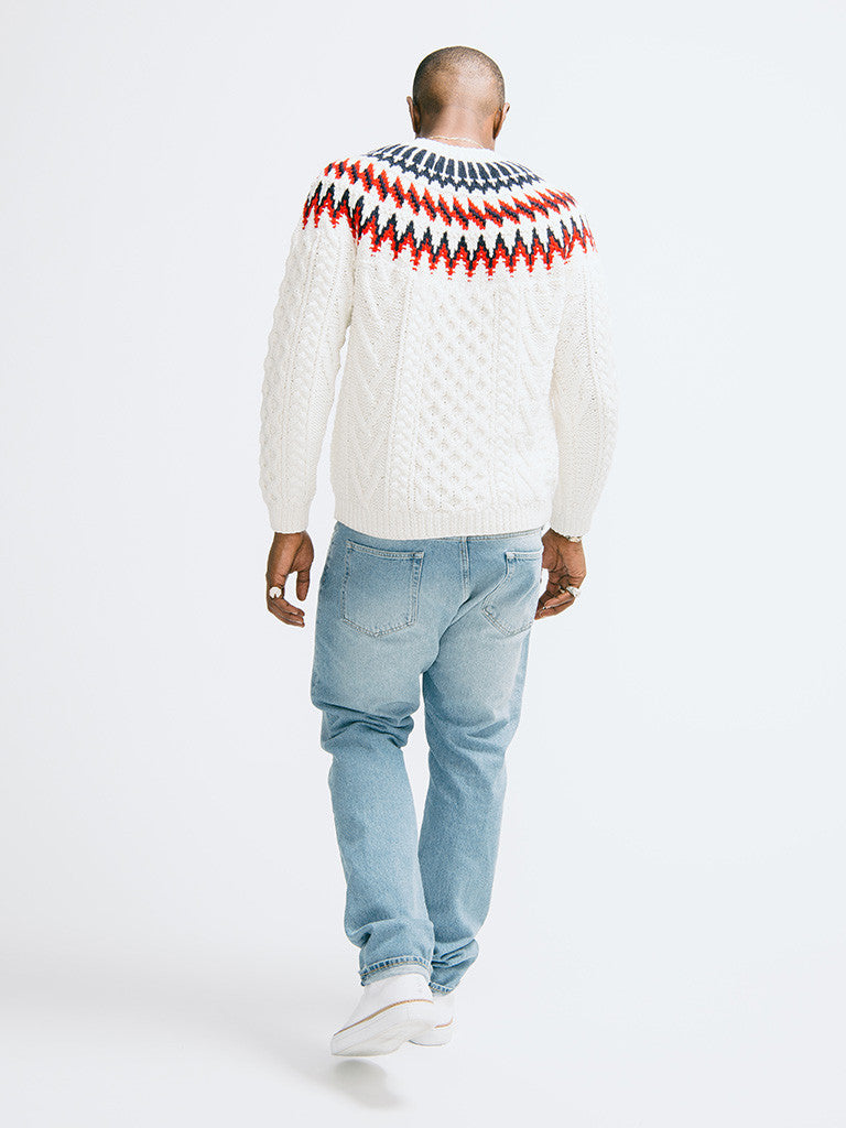 Tomorrowland K-Cord Hand Knitted Pullover - GENTRY NYC - 3