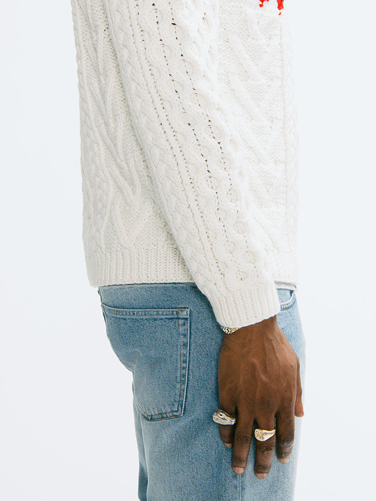 Tomorrowland K-Cord Hand Knitted Pullover - GENTRY NYC - 4