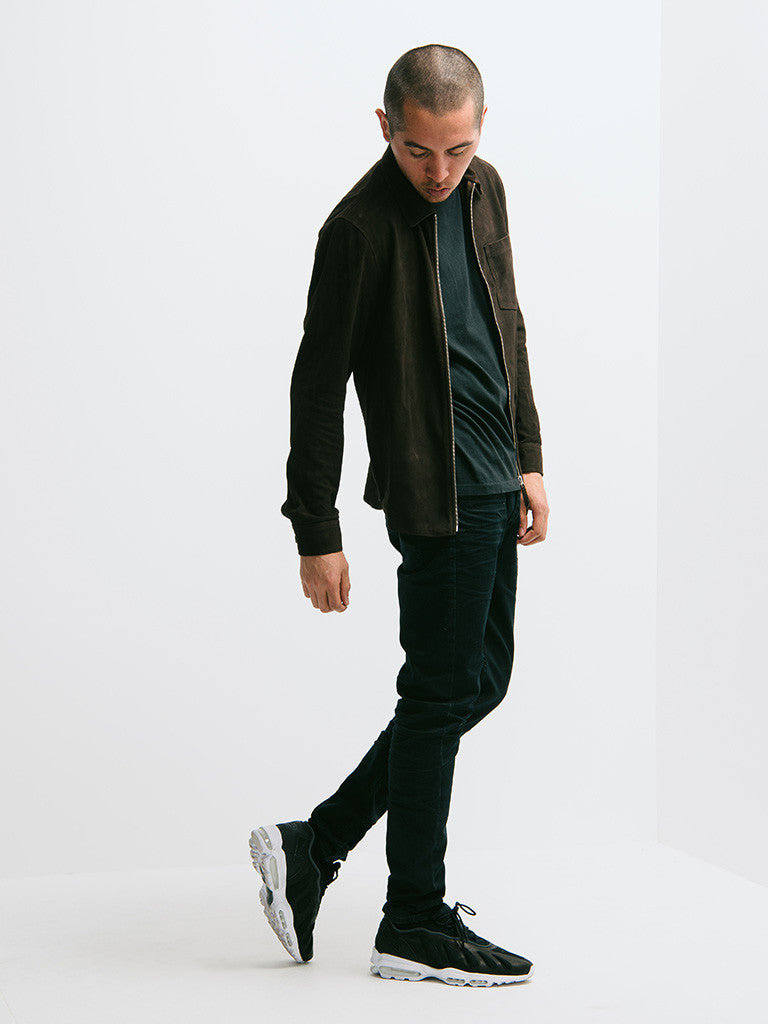 Our Legacy Suede Zip Shirt - GENTRY NYC - 6