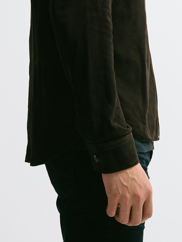 Our Legacy Suede Zip Shirt - GENTRY NYC - 3