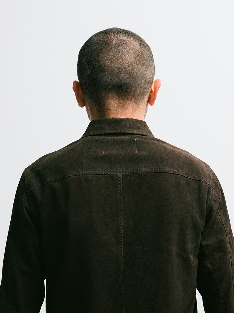 Our Legacy Suede Zip Shirt - GENTRY NYC - 2