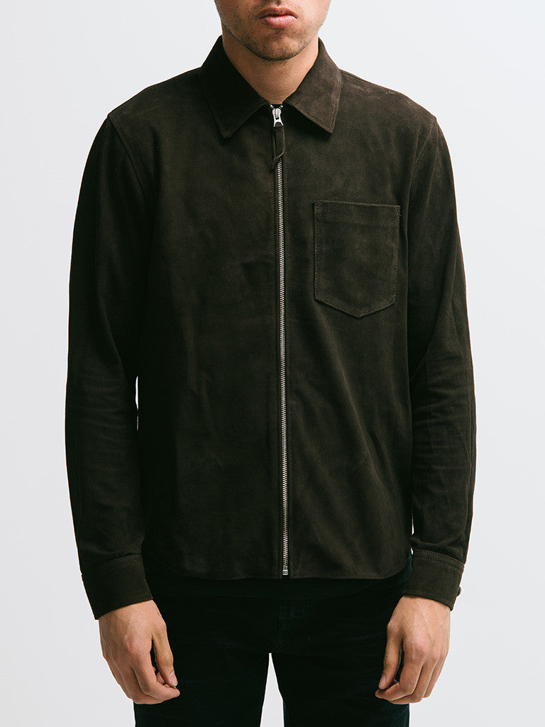 Our Legacy Suede Zip Shirt - GENTRY NYC - 4