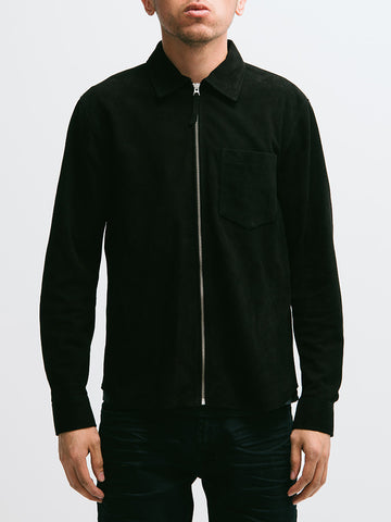 Our Legacy Suede Zip Shirt - GENTRY NYC - 5