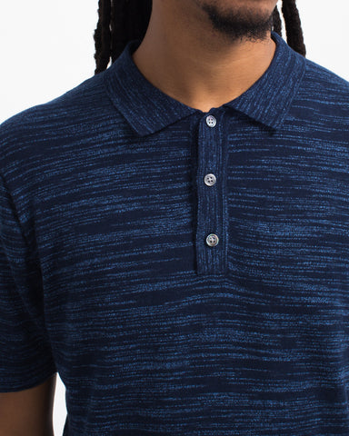 Space Dye Short Sleeve Polo