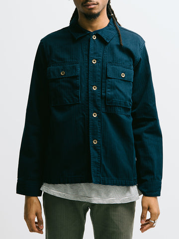 Alex Mill Herringbone Military Jacket - GENTRY NYC - 1