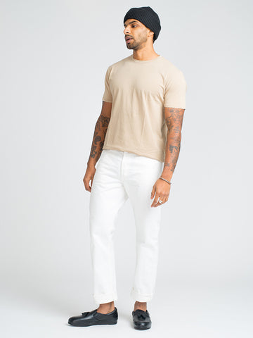 Alex Mill SIMPLE TEE-KHAKI - GENTRY NYC - 1