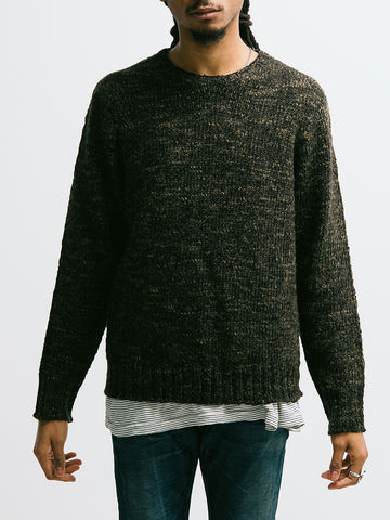 Alex Mill Macho Alpaca Blend Crew Sweater - GENTRY NYC - 6