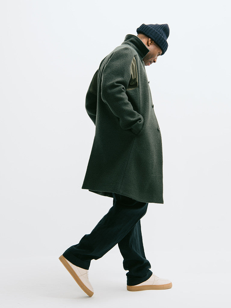 Abasi Rosborough Arc Overcoat - GENTRY NYC - 2
