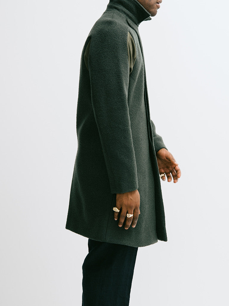 Abasi Rosborough Arc Overcoat - GENTRY NYC - 4
