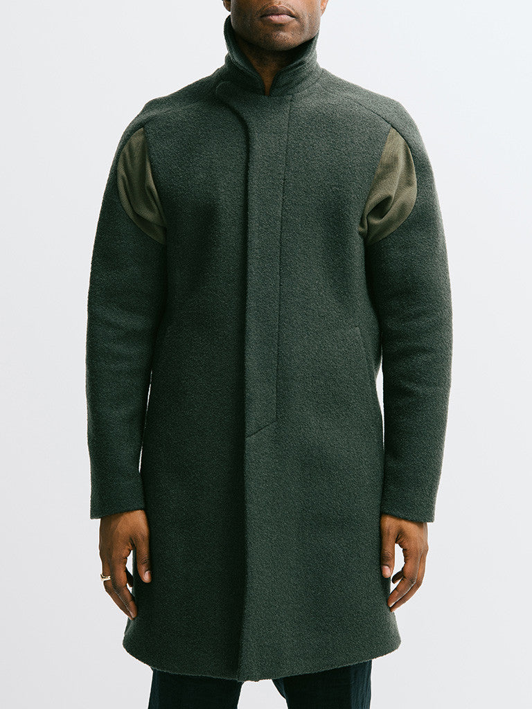 Abasi Rosborough Arc Overcoat - GENTRY NYC - 6