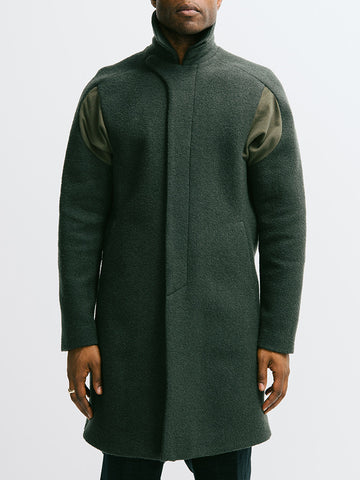Abasi Rosborough Arc Overcoat - GENTRY NYC - 1