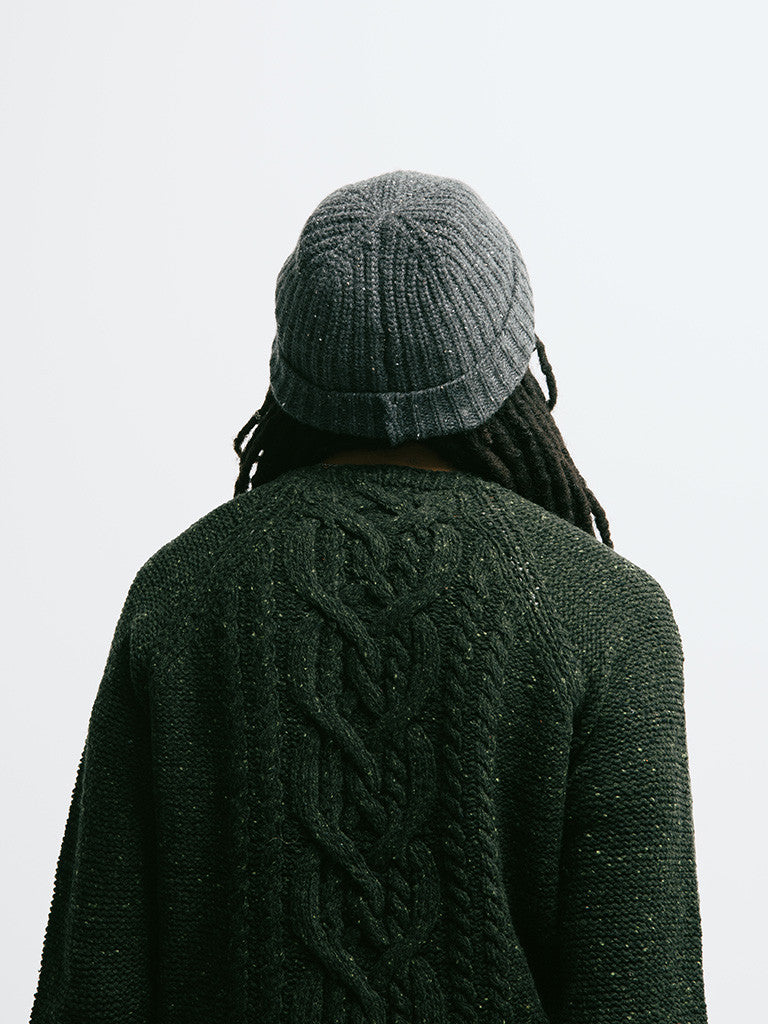 Alex Mill Wool Donegal Cable Crew - GENTRY NYC - 2
