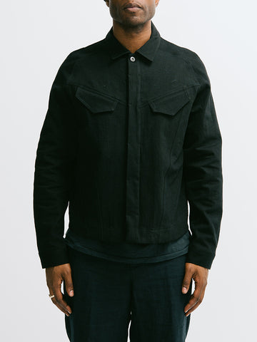 Abasi Rosborough Arc Denim Jacket - GENTRY NYC - 1