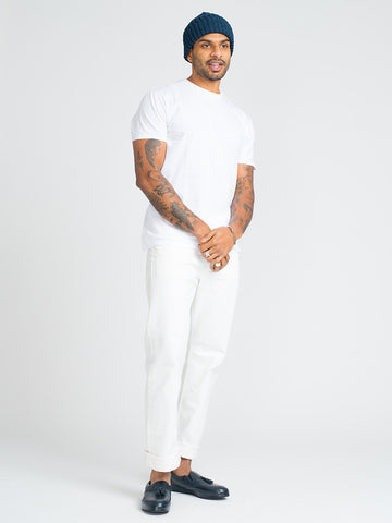 Alex Mill SIMPLE TEE-WHITE - GENTRY NYC - 1