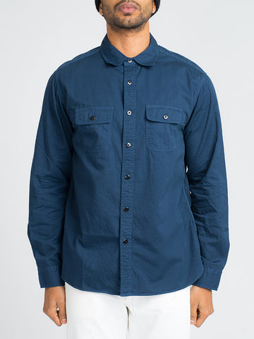 Alex Mill ROADHOUSE SHIRT-NAVY - GENTRY NYC - 1