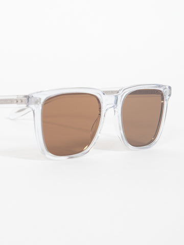 Oliver Peoples NDG - CRYSTAL / BROWN GLASS - GENTRY NYC - 1