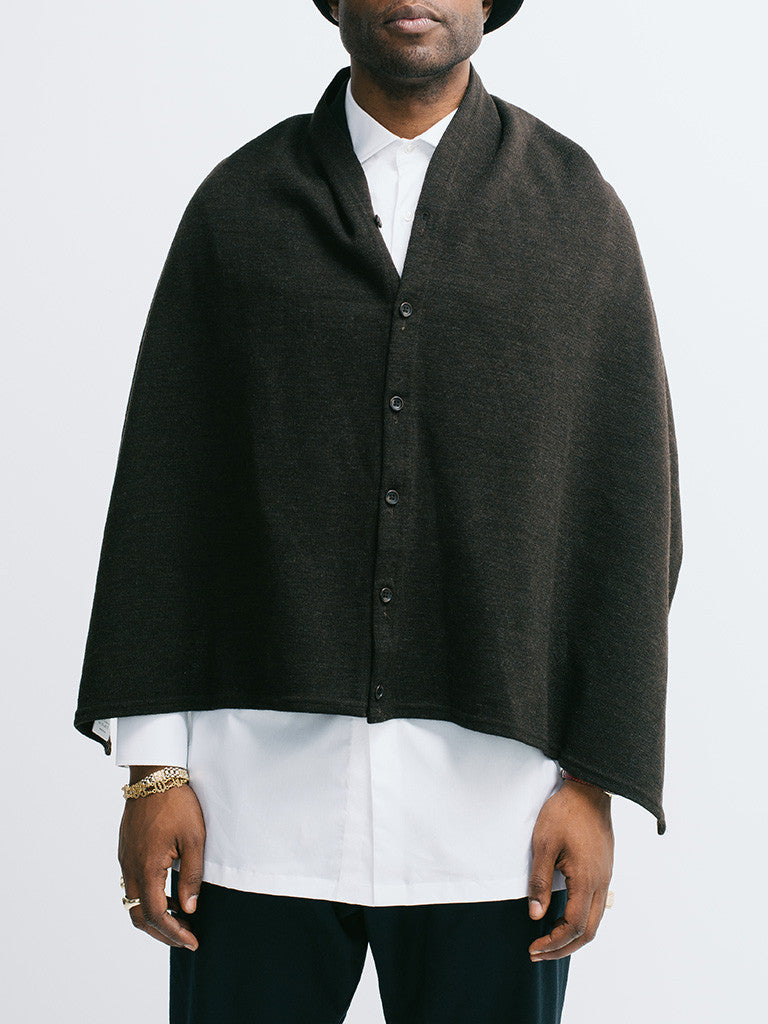 Engineered Garments Button Shawl - GENTRY NYC - 7