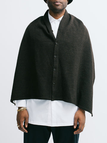 Engineered Garments Button Shawl - GENTRY NYC - 1
